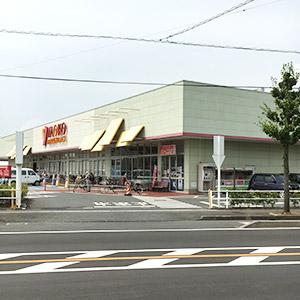 鴻巣方面よりお越しの場合は、ヤオコー逆川店を目印にして頂くと分かりやすいと思います。